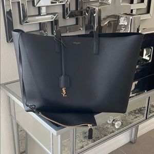 NEW authentic YSL tote bag blk